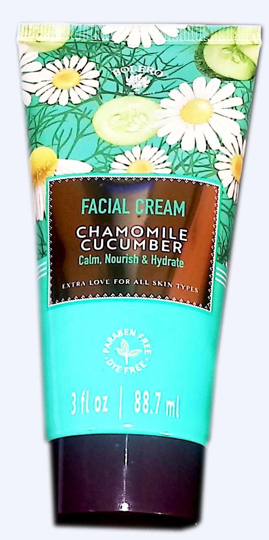 Facial Cream Chamomile Cucumber Calm, Nourish & Hydrate 3fl oz (88.7ml)