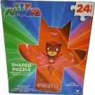 Kids Hot SELLER 24 Piece PJ Masks Shaped Jigsaw Puzzle (Owlette)