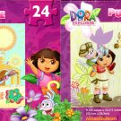 Dora and Friends - 24 Pieces Jigsaw Puzzle (Set of 2 Pack) - v6