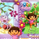 Dora and Friends - 24 Pieces Jigsaw Puzzle (Set of 2 Pack) - v5