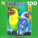 Colorful Lovebirds - 100 Piece Jigsaw Puzzle