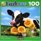 Baby Calf - 100 Piece Jigsaw Puzzle