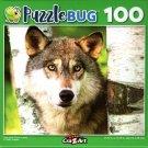 Gray Wolf - 100 Piece Jigsaw Puzzle