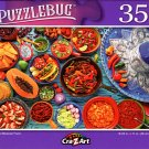 Colorful Mexican Food - 350 Pieces Jigsaw Puzzle