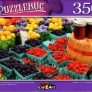 Berries and Preserves at Outdoor Farmers Market - 350 Pieces Jigsaw Puzzle