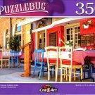 Mediterranean Outdoor Cafe - 350 Pieces Jigsaw Puzzle