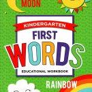 Good Grades Kindergarten Educational Workbooks First Words - v5