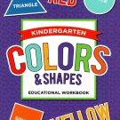 Good Grades Kindergarten Educational Workbooks Colors & Shapes - v5
