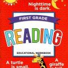 First Grade Educational Workbooks - Good Grades - Reading - v6