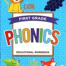 First Grade Educational Workbooks - Good Grades - Phonics - v6