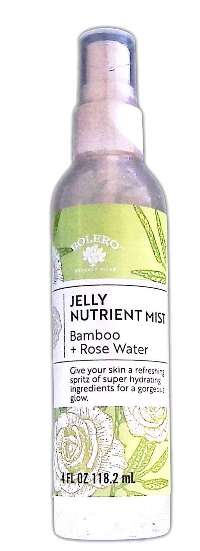 Bolero Jelly Nutrient Mist Bamboo + Rose Water 4fl oz 118.2ml