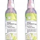 Bolero Jelly Nutrient Mist Bamboo + Rose Water 4fl oz 118.2ml (Set of 2 Pack)