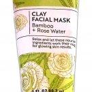 Bolero Clay Facial Mask Bamboo + Rose Water 3fl oz 88.7ml