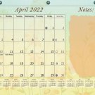 2021-2022 Academic Year 12 Months Student Calendar/Planner for 3-Ring Binder -v001