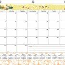 2021-2022 Academic Year 12 Months Student Calendar/Planner for 3-Ring Binder -v003