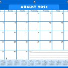 2021-2022 Academic Year 12 Months Student Calendar/Planner for 3-Ring Binder -v004