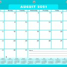 2021-2022 Academic Year 12 Months Student Calendar/Planner for 3-Ring Binder -v006