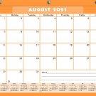 2021-2022 Academic Year 12 Months Student Calendar/Planner for 3-Ring Binder -v007