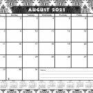 2021-2022 Academic Year 12 Months Student Calendar/Planner for 3-Ring Binder -v009