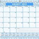 2021-2022 Academic Year 12 Months Student Calendar/Planner for 3-Ring Binder -v011