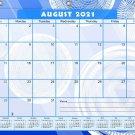 2021-2022 Academic Year 12 Months Student Calendar/Planner for 3-Ring Binder -v013