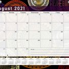2021-2022 Academic Year 12 Months Student Calendar/Planner for 3-Ring Binder -v015