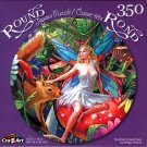 Summer Forest Fairy by Sergio Botero - 350 Piece Round Jigsaw Puzzle