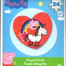 Peppa Pig - 24 Shaped Jigsaw Puzzle