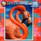 Flamingo Friends - 100 Piece Jigsaw Puzzle