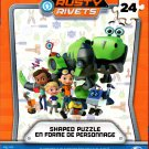 Nickelodeon Rust Rivets -  24 Shaped Jigsaw Puzzle Piece v2