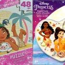 Disney Princess - 48 Shaped Jigsaw Puzzle (Set of 2)