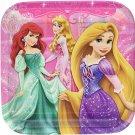 Disney Very Important Princess Dream Party Square Dinner Plates (8)