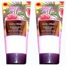 Facial Cream Hibiscus Rose Refresh, Nourish & Revive 3fl oz (Set of 2)