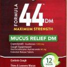 Vicks 44 DM MAXIMUM STRENGTH - MUCUS RELIEF DM-10 Extended Release Tablets
