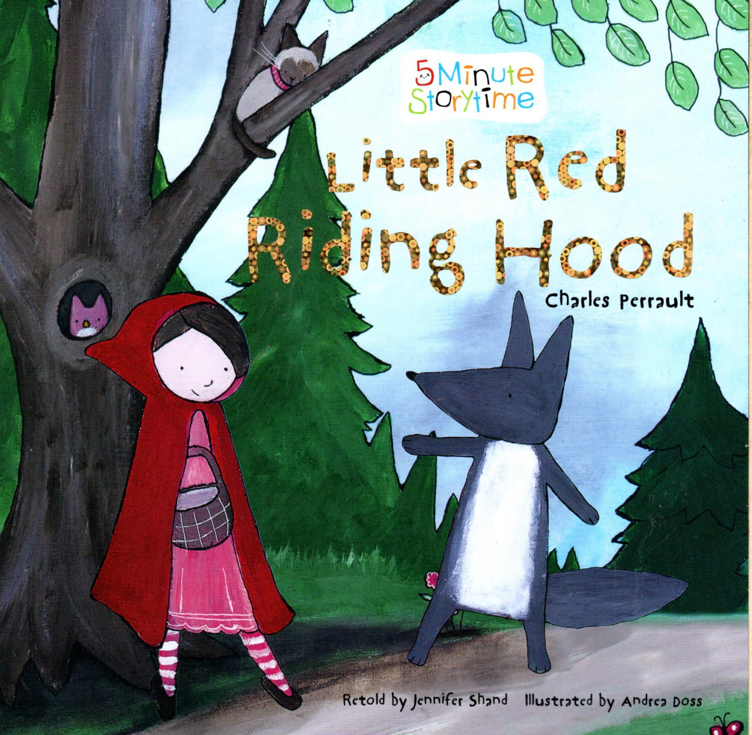 Little Red Riding Hood - 5 Minute Story time - Classic Fairy Tales