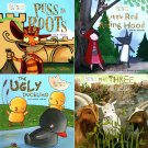 The Ugly Duckling, The Three Billy Goats Gruff, Little Red Riding Hood, Puss in Boots - Tales