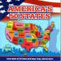 America`s 50 States - Learn about all 50 States with maps, flags, and fun facts! - Children Book