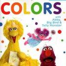 123 Sesame Street Kindergarten Educational Workbooks - Colors with Abby, Big Bird & Telly Monster