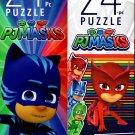 PJ Masks - 24 Pieces Jigsaw Puzzle (Set of 2)