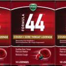 Vicks Formula 44 Cough & Sore Throat Lozenge (Set of 3 Pack)