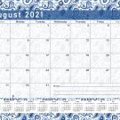 2021-2022 Academic Year 12 Months Student Calendar/Planner for 3-Ring Binder -v019