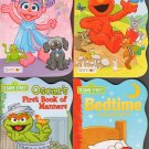 123 Sesame Street Board Books Pack of Four