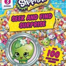 Shopkins Seek and Find Surprise – Sticker Book