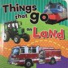 BoardBook Things That Go On Land