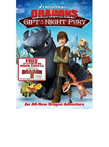 Dreamworks Dragons DVD