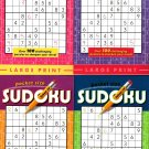 Large Print Pocket Size Sudoku Puzzles - All New Puzzles - Vol.29 - 32
