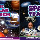 Space Travel and The Solar System - Children's Soft Cover Fun Facts Book (Set of 2 Books)