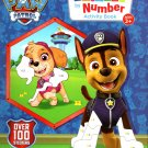 Nickelodeon Paw Patrol - Sticker by Number Activity Book Over 100 Stickers