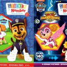 Nickelodeon Paw Patrol - Sticker by Number Activity Book Over 140 + 100 Stickers (Set of 2 Books) v3