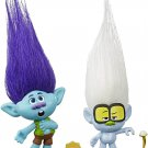 Trolls World Tour Tiny Diamond & Branch Collectible Doll (Set of 2)